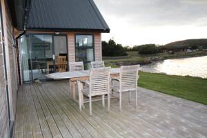 East Lodge deck