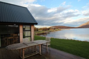 self catering lodge patio