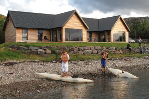 Lodge self catering beach accommodation