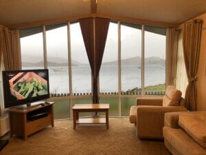 Holiday Home view from the lounge